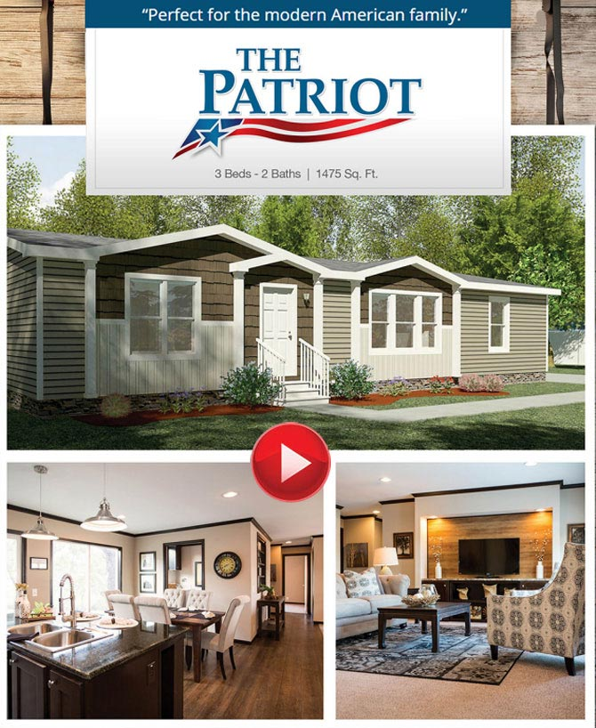 The Patriot From Clayton Homes Down East Of Beulaville 28518rhdowneasthomesnc: Patriot Manufactured Home Floor Plans At Gmaili.net