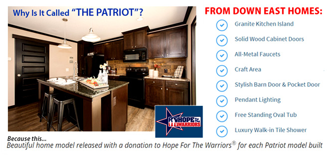 The Patriot from Clayton Homes - Down East Homes of Beulaville 28518