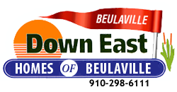 Down East Homes of Beulaville, NC Logo