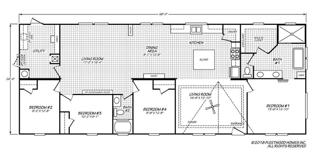 Pegasus Fleetwood Floor Plan