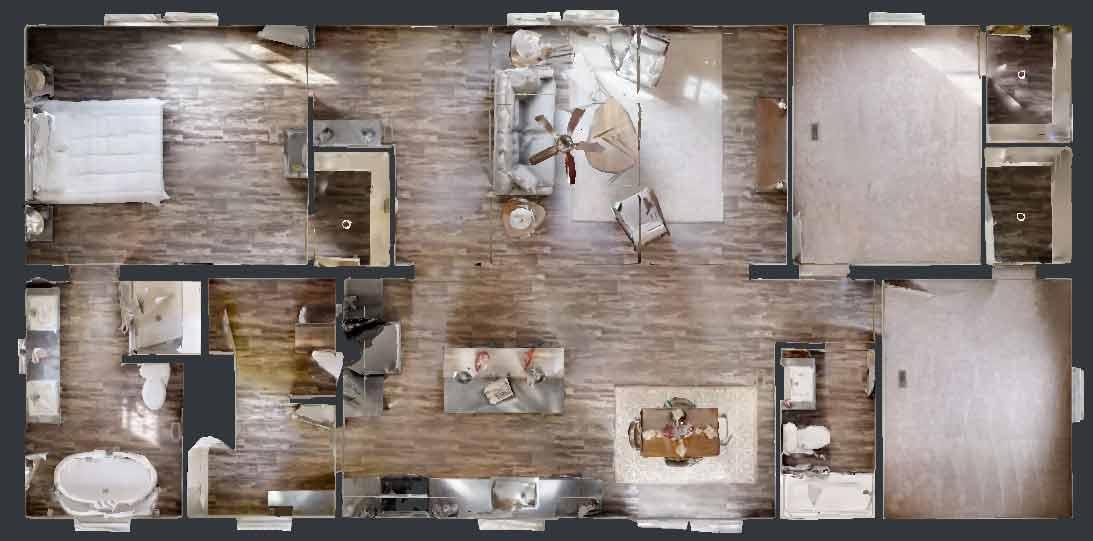 Nova 3 Bed Floor Plan - Beulaville NC