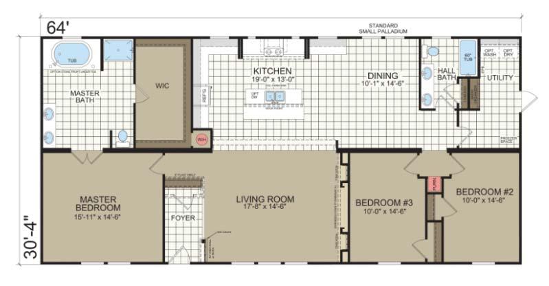 Belle Vue - Champion Homes Floor Plan