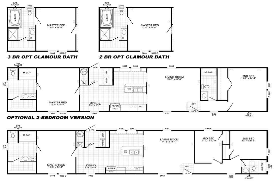 Palmetto 2439 Floor Plan