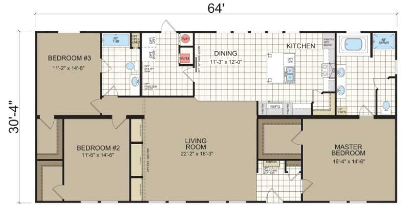 Modular Floor Plan NC
