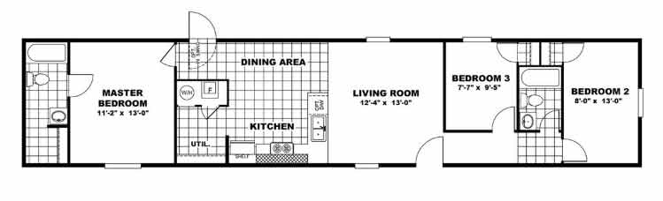 Elation - Tru Homes - Floor Plan NC