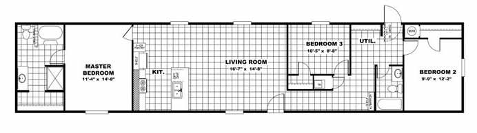 Victory Plus floor Plan Beulaville NC