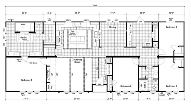 Grayson floor plan - Winston Homebuilders