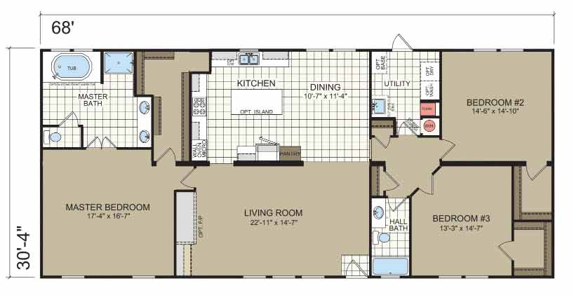 Shenandoah Floor Plan - Champion Homes NC