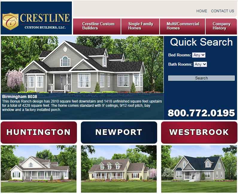 Crestline Custom Homebuilders - Modulars in NC