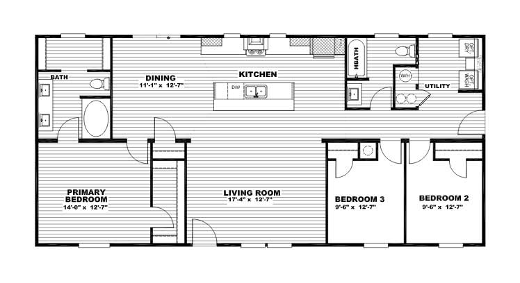 Explorer - Clayton Epic Collection - Floor Plan