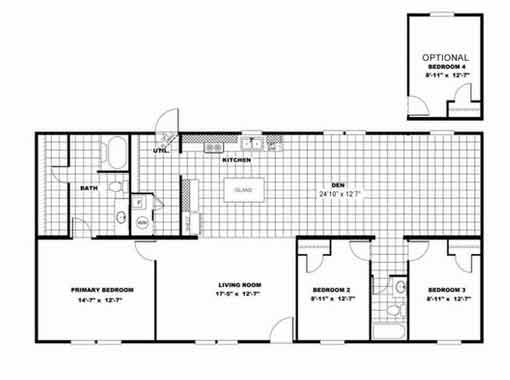 Marvel floor plan