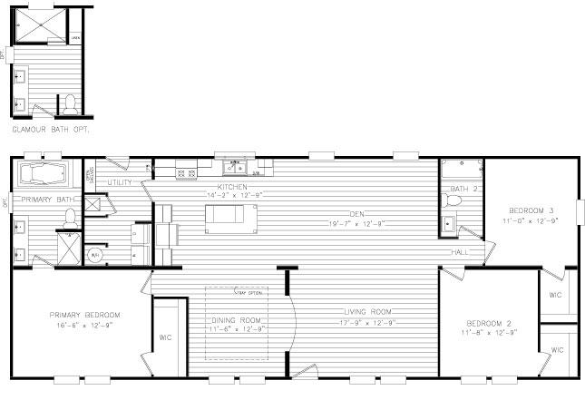 Cavalier Heritage 3101 floor plan
